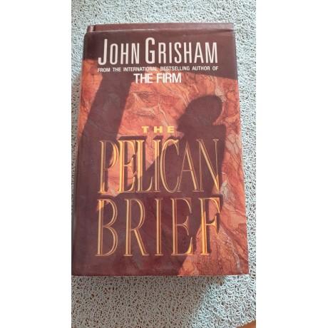 Kniha - Pelican brief, John Grisham-anglicky