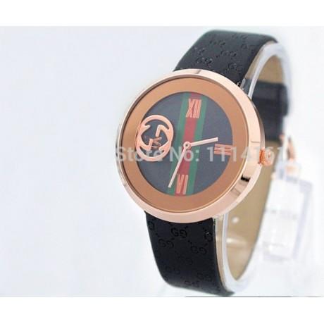 Dámské hodinky černé s logem
